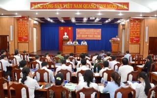 Bế mạc kỳ họp thứ 5 HĐND huyện khóa VI