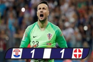Croatia run rẩy vào tứ kết