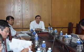 UBND tỉnh: Tiếp, làm việc với Viện Chính sách và chiến lược Phát triển nông nghiệp nông thôn