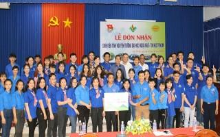Sinh viên ĐH Ngoại ngữ - Tin học TP. Hồ Chí Minh tham gia Mùa hè xanh tại Dương Minh Châu
