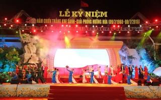 Quảng Trị kỷ niệm 50 năm chiến thắng Khe Sanh giải phóng Hướng Hóa