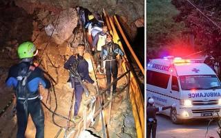 12 cầu thủ,  HLV đội bóng Thái Lan được đưa ra khỏi hang