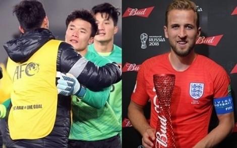 Bùi Tiến Dũng trao giải cầu thủ xuất sắc nhất trận tại World Cup 2018