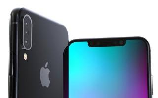 Hình ảnh iPhone X Plus với 3 camera sau khiến iFan phát cuồng