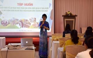 Bộ Công Thương: Tập huấn kiến thức về an toàn thực phẩm