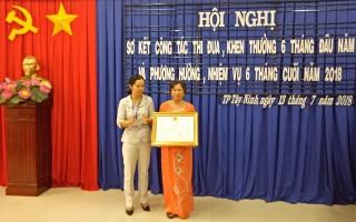 Thành phố Tây Ninh sơ kết công tác thi đua - khen thưởng 6 tháng đầu năm 2018