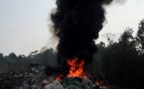 Ðốt rác trong khu dân cư bị xử lý như thế nào?