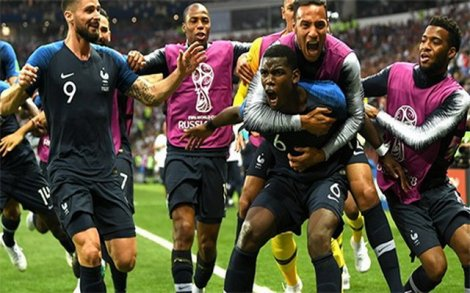 Thắng thuyết phục Croatia, Pháp vô địch World Cup 2018