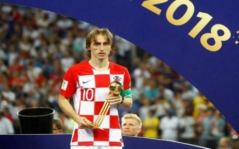 World Cup 2018: Quả bóng Vàng gọi tên Luka Modric