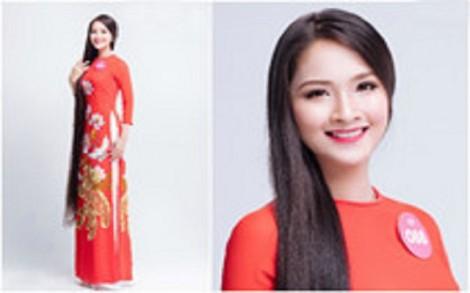 Người đẹp Hoa hậu Việt Nam 2018 khoe suối tóc dài gần chấm gót