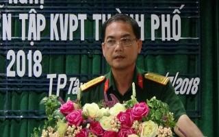 TP.Tây Ninh: Triển khai kế hoạch diễn tập khu vực phòng thủ