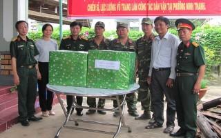 Ban Chỉ đạo công tác vận động quần chúng thăm cán bộ, chiến sĩ làm công tác dân vận