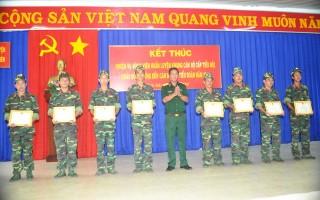 Hoàn thành nhiệm vụ huấn luyện quân nhân dự bị