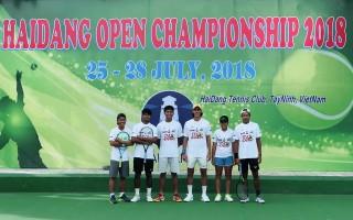 Tổ chức Giải quần vợt mở rộng quốc tế - Tranh cúp Hải Đăng 2018