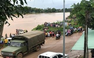 Vỡ đập thủy điện tại Lào: Trực thăng giải cứu 26 công nhân Hoàng Anh Gia Lai