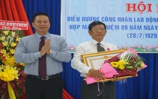 LĐLĐ Tây Ninh: Họp mặt kỷ niệm 89 năm ngày thành lập Công đoàn Việt Nam