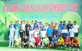 Khai mạc Giải quần vợt mở rộng quốc tế - tranh cúp Hải Đăng 2018