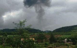 Rơi máy bay quân sự ở Nghệ An, 2 phi công hy sinh