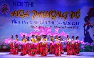 Khai mạc Hội thi Hoa phượng đỏ vòng tỉnh lần thứ 34