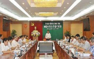 Ủy ban Kiểm tra Trung ương kết luận vi phạm của một số tướng lĩnh