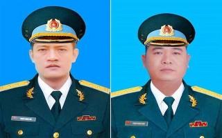 Truy thăng quân hàm cho hai phi công Su-22U hy sinh