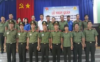 Đón sinh viên ĐH An ninh nhân dân tham gia Chiến dịch tình nguyện hè tại Châu Thành
