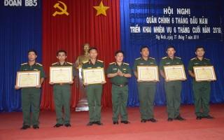 Hội nghị quân chính Trung đoàn 5
