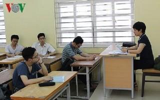 Chốt ngày công bố điểm chuẩn và thí sinh trúng tuyển đại học đợt 1