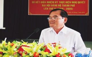 Sơ kết thực hiện Nghị quyết đại hội Đảng bộ Thành phố lần thứ XI, nhiệm kỳ 2015-2020