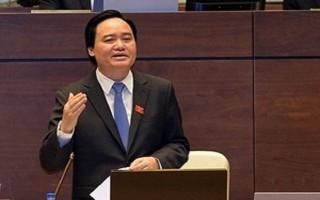Bộ trưởng Phùng Xuân Nhạ báo cáo Chính phủ về kỳ thi THPT quốc gia