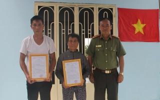 Công an Tây Ninh kết thúc đợt ra quân làm công tác dân vận tại Bình Thạnh