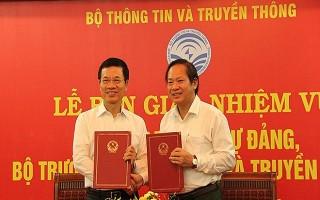 Bàn giao nhiệm vụ Bí thư Ban Cán sự Đảng, Bộ trưởng Bộ TT&TT