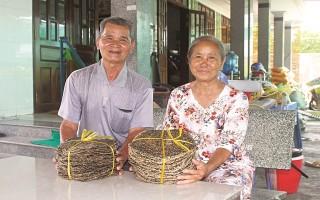 Niềm vui từ nghề làm bánh đa