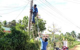 """Khởi công xây dựng công trình thanh niên """"Thắp sáng đường quê"""""""