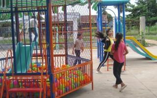 Tân Biên: Ra mắt cụm trò chơi miễn phí cho thiếu nhi xã Tân Bình