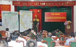 Giao ban dự án Đường tuần tra biên giới trên địa bàn Quân khu 7