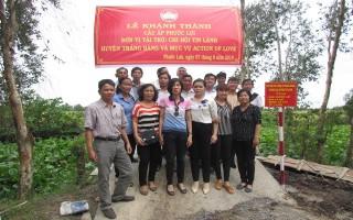 Khánh thành cầu nông thôn ở Phước Lợi