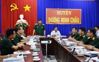 Thanh tra kết quả thực hiện Nghị định 119 tại huyện Dương Minh Châu