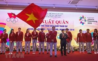 Đoàn thể thao Việt Nam xuất quân tham dự ASIAD 2018