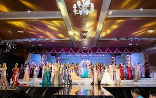 Khoảnh khắc đăng quang của Hoa hậu Đại sứ Du lịch Thế giới Phan Thị Mơ