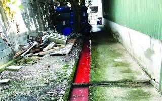 Một doanh nghiệp xả nước thải không đúng quy định