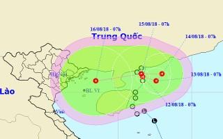 Tin ATNĐ, cảnh báo mưa lớn ở Bắc Bộ, Bắc Trung Bộ