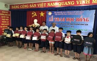 Công ty Tân Ngọc Lực: Tiếp sức đến trường cho học sinh TP.Tây Ninh