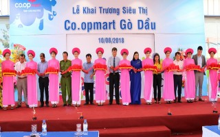 Khai trương Co.opmart Gò Dầu