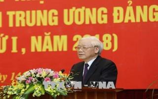 Tổng Bí thư khai giảng lớp cập nhật kiến thức dành cho các Ủy viên Trung ương Đảng