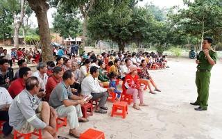 Tập huấn PCCC&CNCH cho người dân khu tái định cư