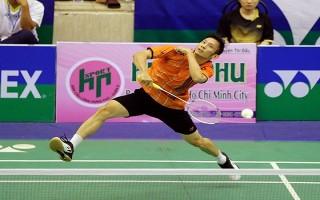 Tiến Minh ra quân thuận lợi tại giải cầu lông Việt Nam Open