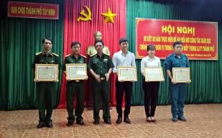 Sơ kết 5 năm thực hiện Đề án Đổi mới công tác giáo dục chính trị trong lực lượng vũ trang