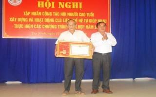 Tập huấn công tác Hội NCT