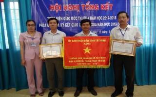 Tổng kết thi đua Khối thi đua các trường CĐ, trung cấp chuyên nghiệp và dạy nghề tỉnh
